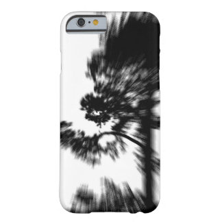 Tree Over Hill / Black & White Abstract Barely There iPhone 6 Case