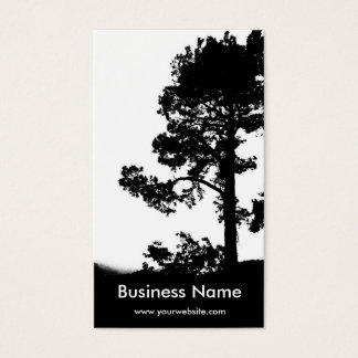 Tree Over Hill Business Card