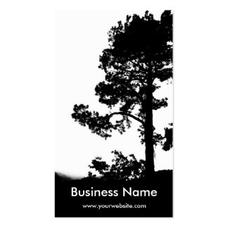 Tree Over Hill Business Card Template