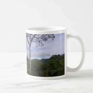 tree over view basic white mug