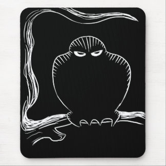 Tree Owl Mouse Pad