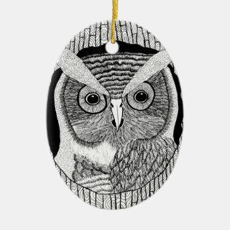 Tree Owl Ornament