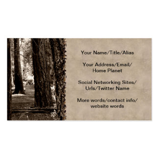 TREE PATH PACK OF STANDARD BUSINESS CARDS