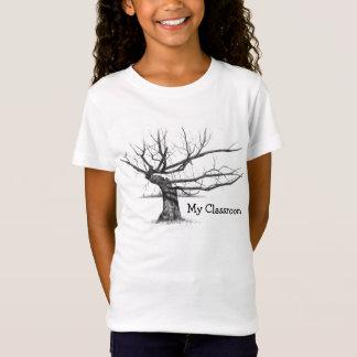 TREE: PENCIL REALISM: HOMESCHOOL SHIRT