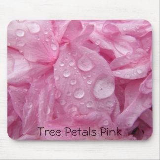 Tree Petals Pink Mousepad