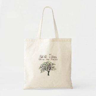 Tree Planet Tote Bag