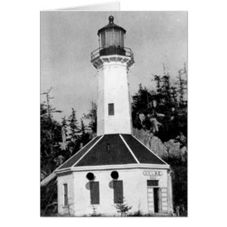 Tree Point Lighthouse Greeting Card