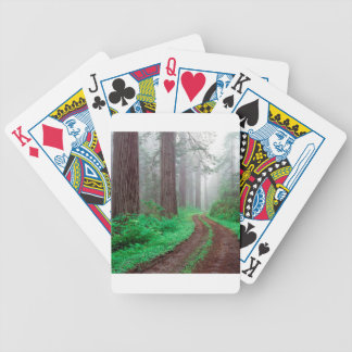 Tree Redwood California Playing Cards