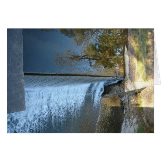 Tree Reflections at The Mill Dam Greeting Card