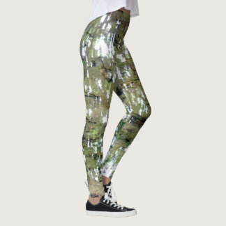 Tree Reflections In Water Leggings