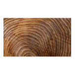 Tree rings business card templates