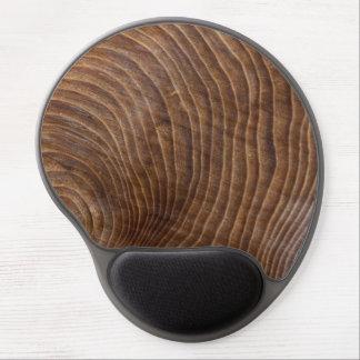 Tree rings gel mouse pad