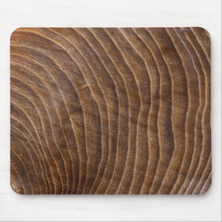 Tree rings mouse mat