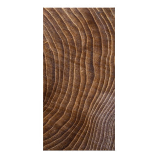 Tree rings photo card