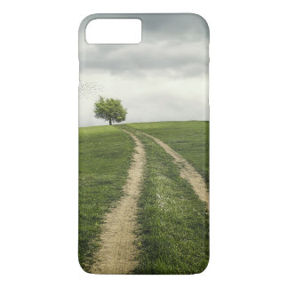 Tree road nature scenery iPhone 7 plus case