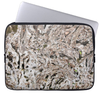 Tree root composition laptop sleeve