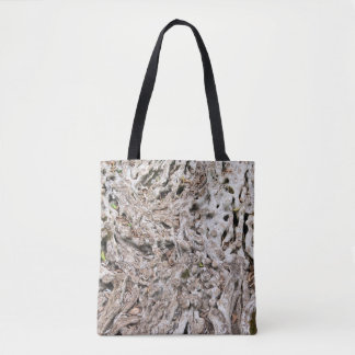 Tree root composition tote bag
