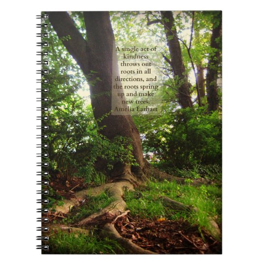 Tree Roots & Earhart Kindness Quote Notebooks