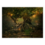 tree scape print