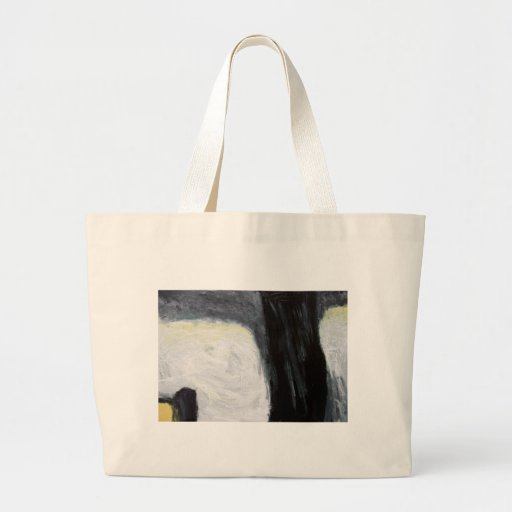 Tree Shadow and Silhouette ( expressionism ) Tote Bag