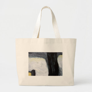 Tree Shadow and Silhouette expressionism Tote Bag