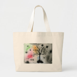 Tree Silhouette Canvas Bag