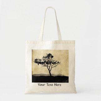 Tree Silhouette Cute Tote Bag