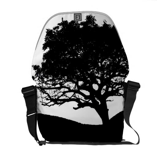 Tree Silhouette Commuter Bag