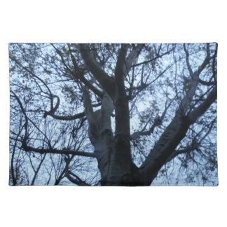 Tree Silhouette Photograph Placemat