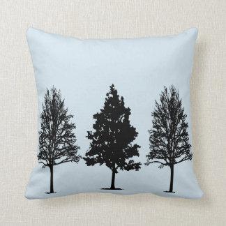 Tree Silhouette Pillow