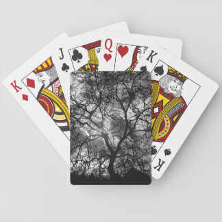 Tree Silhouette Playing Cards