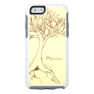Tree Sketch - Personalized with Name - OtterBox iPhone 6/6s Case