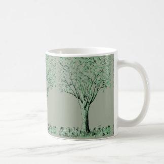 Tree Sketched Coffee/Tea Mug