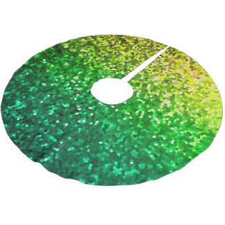Tree Skirt Mosaic Sparkley Texture