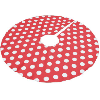 Tree Skirt Polka Dots