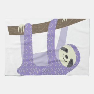 Tree Sloth Tea Towel