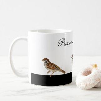 Tree sparrow - Passer Montanus - Bird Coffee Mug