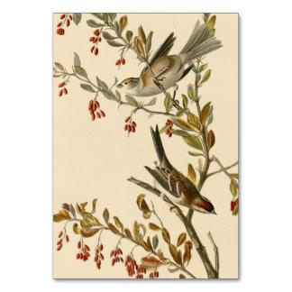 Tree Sparrow Table Card