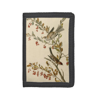 Tree Sparrow Trifold Wallets