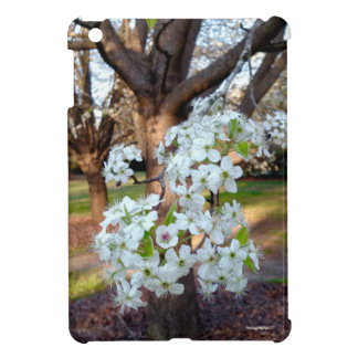 Tree Spring Flowers Hard Shell iPad Mini Case