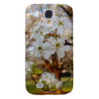 Tree Spring Flowers Samsung Galaxy S4 Case