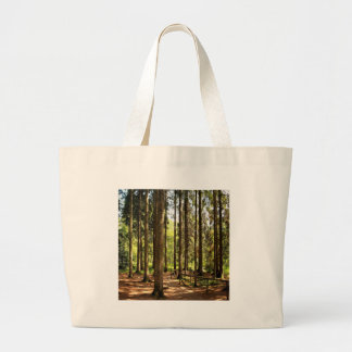 Tree Spruce Illusions Canvas Bag