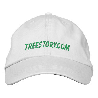 Tree Story Hat Embroidered Baseball Cap