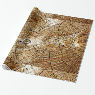 Tree Stump Wrapping Paper