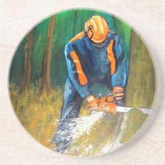 Tree Surgeon Arborist Forester Coaster
