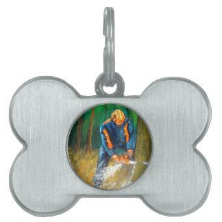 Tree Surgeon Arborist Forester Pet ID Tags
