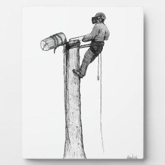 Tree Surgeon Arborist Forester Photo Plaque