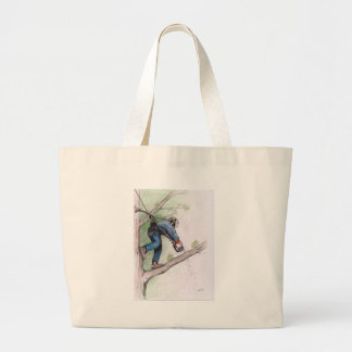 Tree Surgeon Arborist Stihl Large Tote Bag