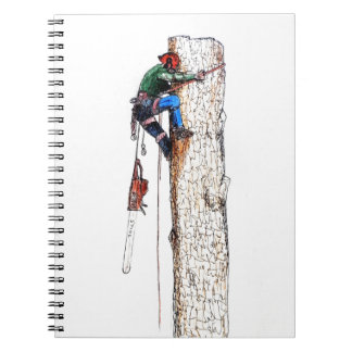 Tree Surgeon Arborist Stihl Notebook