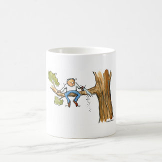 Tree surgeon basic white mug